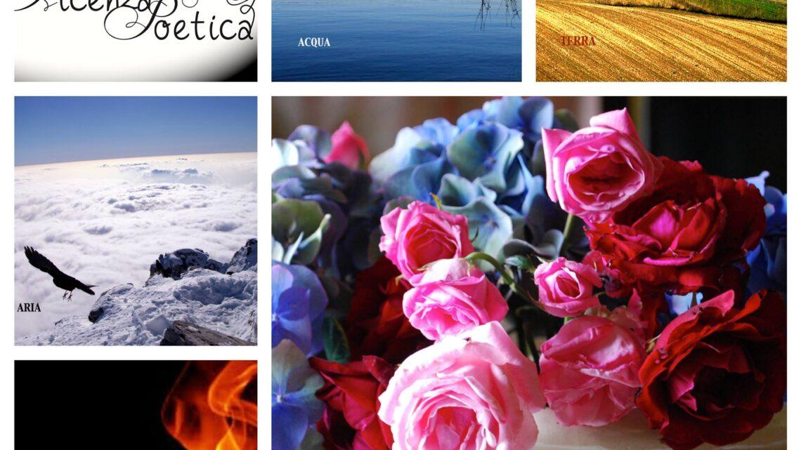 Terra, acqua, aria e fuoco… nel fiorir della Poesia