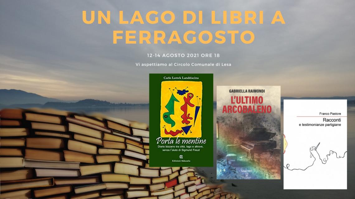 Un Lago di Libri a Ferragosto – incontro letterario
