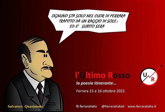 l'Ultimo Rosso – Poesia errante a Ferrara